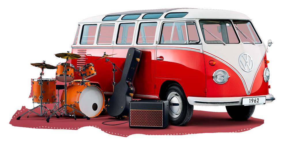 70. výročí VW Transporteru
